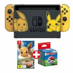 Nintendo Switch Pack Pokémon Let's Go