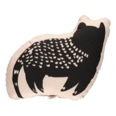 Coussin chat Vieux Rose