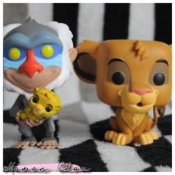Funko Pop Disney Le roi lion Simba Rafiki