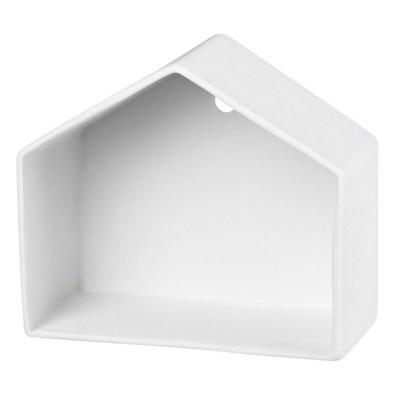 Maison en porcelaine Blanc