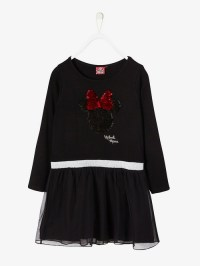 Robe de fêtes Minnie® fille à sequins réversibles