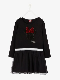 Robe de fêtes Minnie® fille à sequins réversibles
