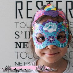 Masques en strass