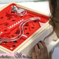 Labyrinthe BRIO et planche 3D