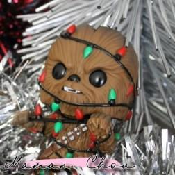 Funko Pop star wars chewbacca christmas