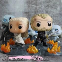 funko pop game of thrones daenerys jorah movie moment
