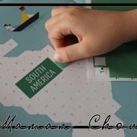 Poppik : Une carte du monde géante toute en stickers
