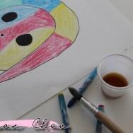 Portrait à la manière de Joan Miro