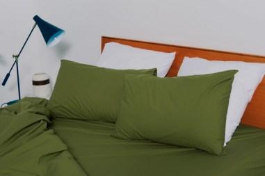 linge de lit bonsoir paris vert