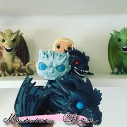 FUNKO POP - Game of Thrones - Night King on Icy Viserion rider