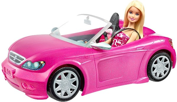 descapotable de barbie
