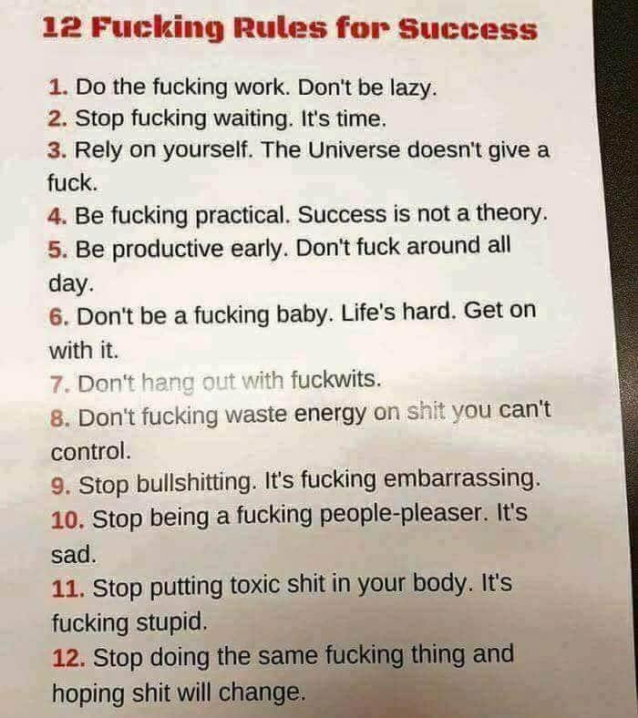 alcanzar el exito en doce sencillos pasos