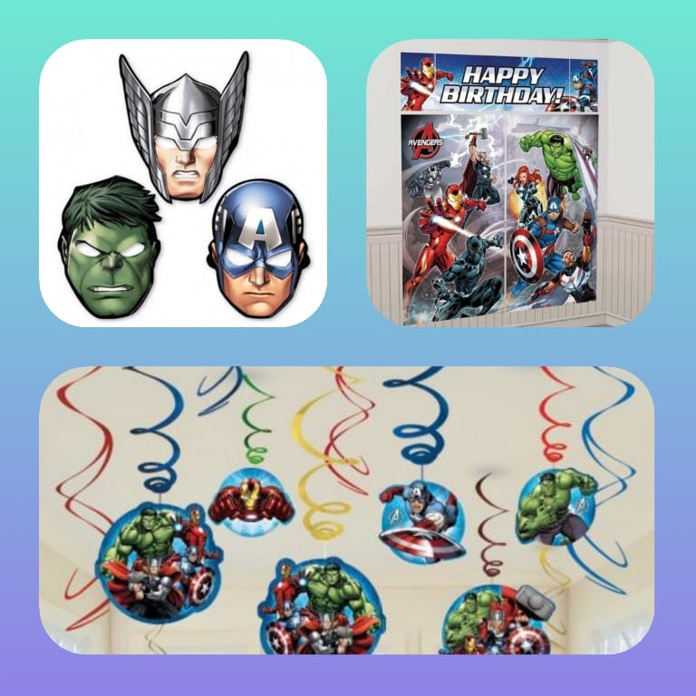 ideas decoracion fiesta avengers