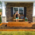 Raised Flower Bed For The Front Of The House Mama Needs A Project