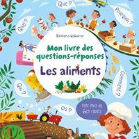 """Mon livre des questions-réponses : """"les Aliments"""" avec les éditions Usborne"""