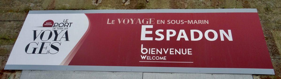 Notre visite du Sous-Marin Espadon à Saint-Nazaire