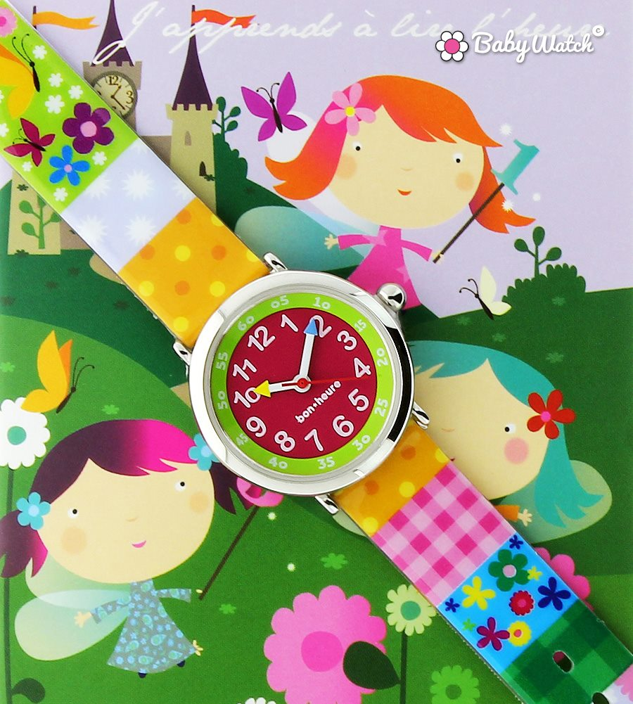 On apprend l'heure et se repérer dans le temps avec montres enfants - babywatch