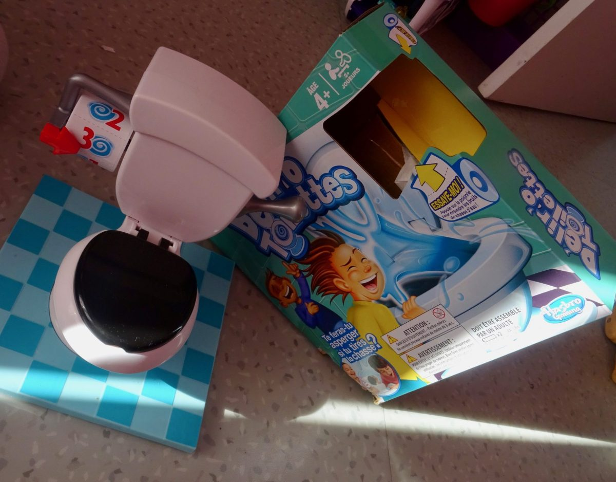 Notre avis sur le jeu Délir'O Toilettes de Hasbro trouvé à La Grande Récré de Saint-Nazaire