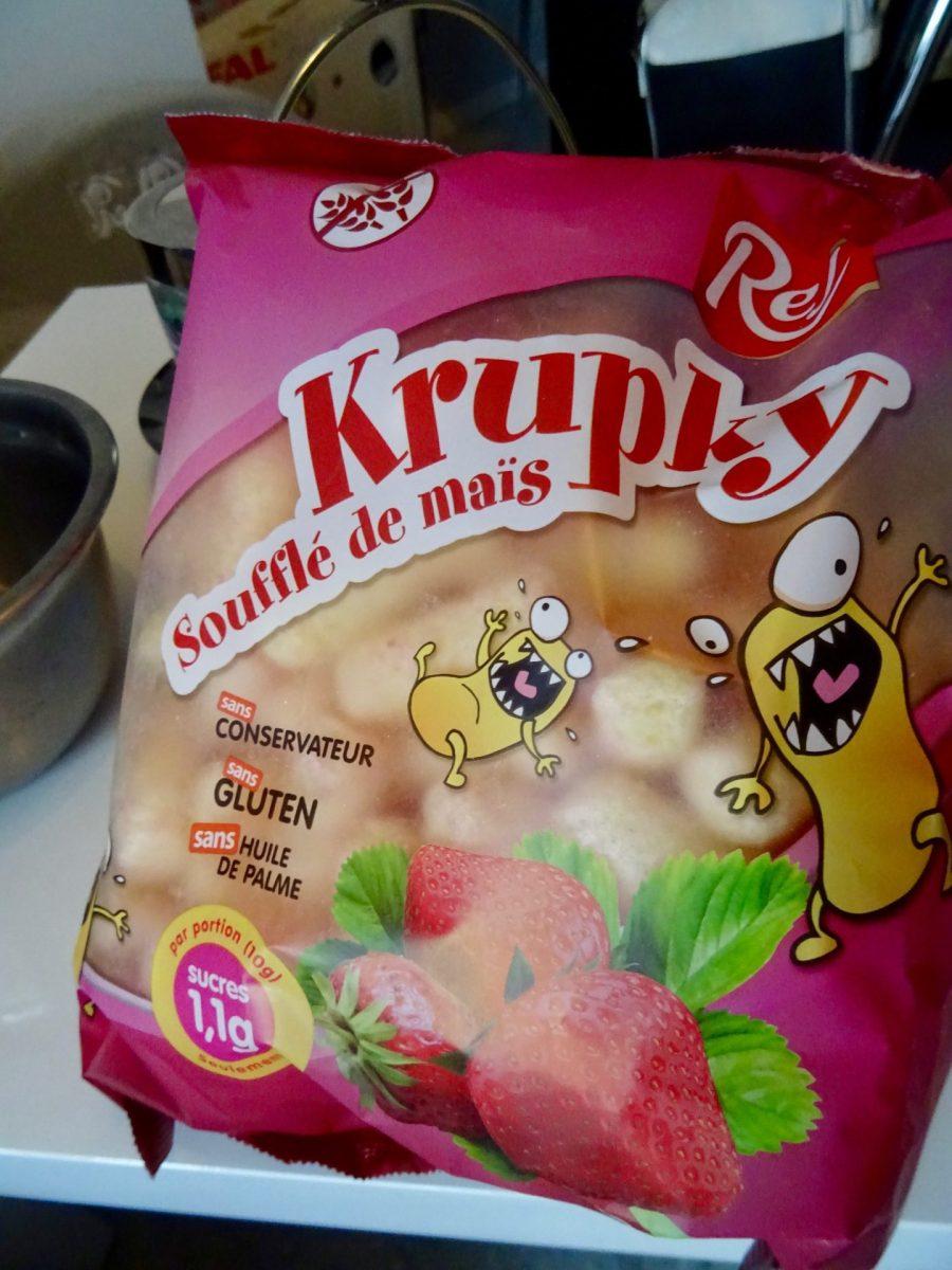 La snack idéal avec Krupky qui nous régale