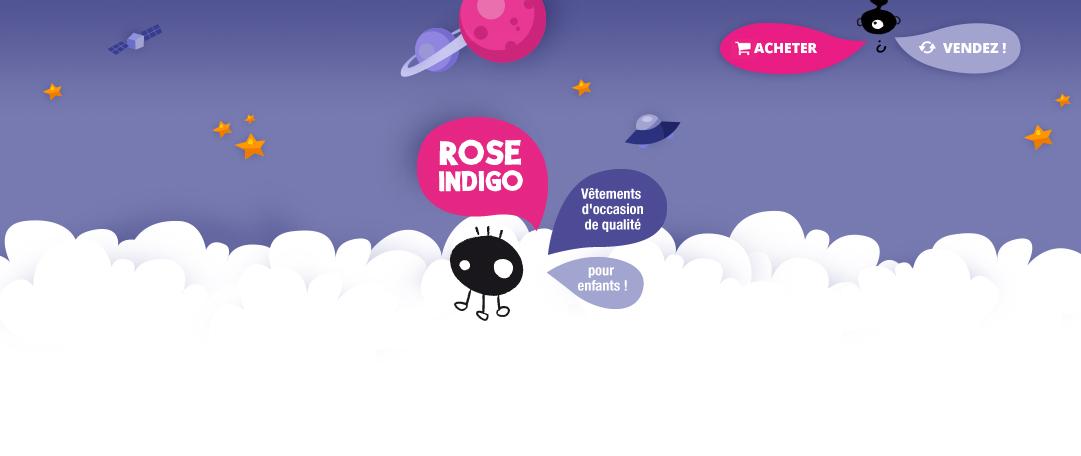 #Bonplan Les vêtements d'occasion avec rose indigo, je suis conquise !