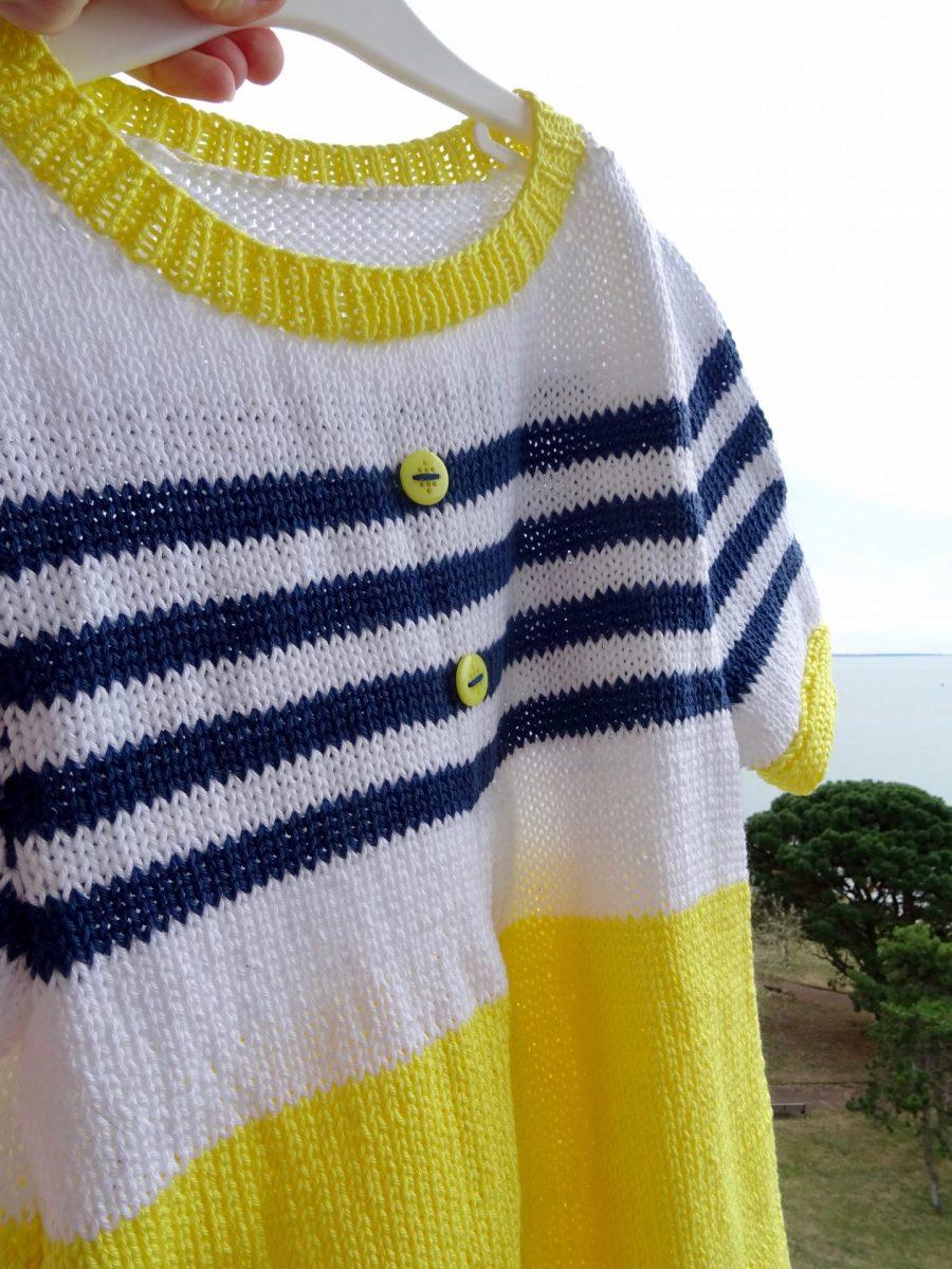 Une robe tricot  ultra tendance avec  Les créas de Lily