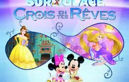 """Un spectacle enchanteresse avec Disney sur Glace """"Crois en tes Rêves"""""""