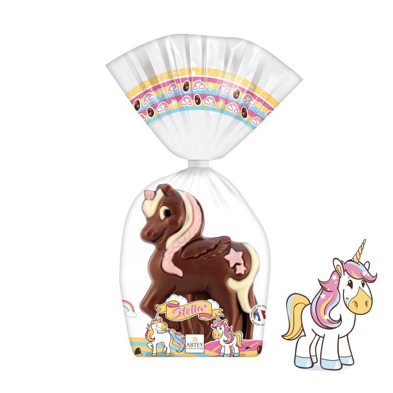 moulage-stella-la-licorne-au-chocolat-au-lait