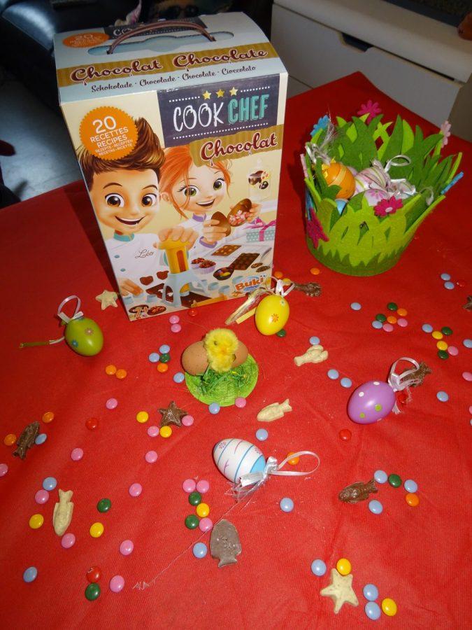 On a fabriqué nos propres chocolats de Pâques avec Buki France