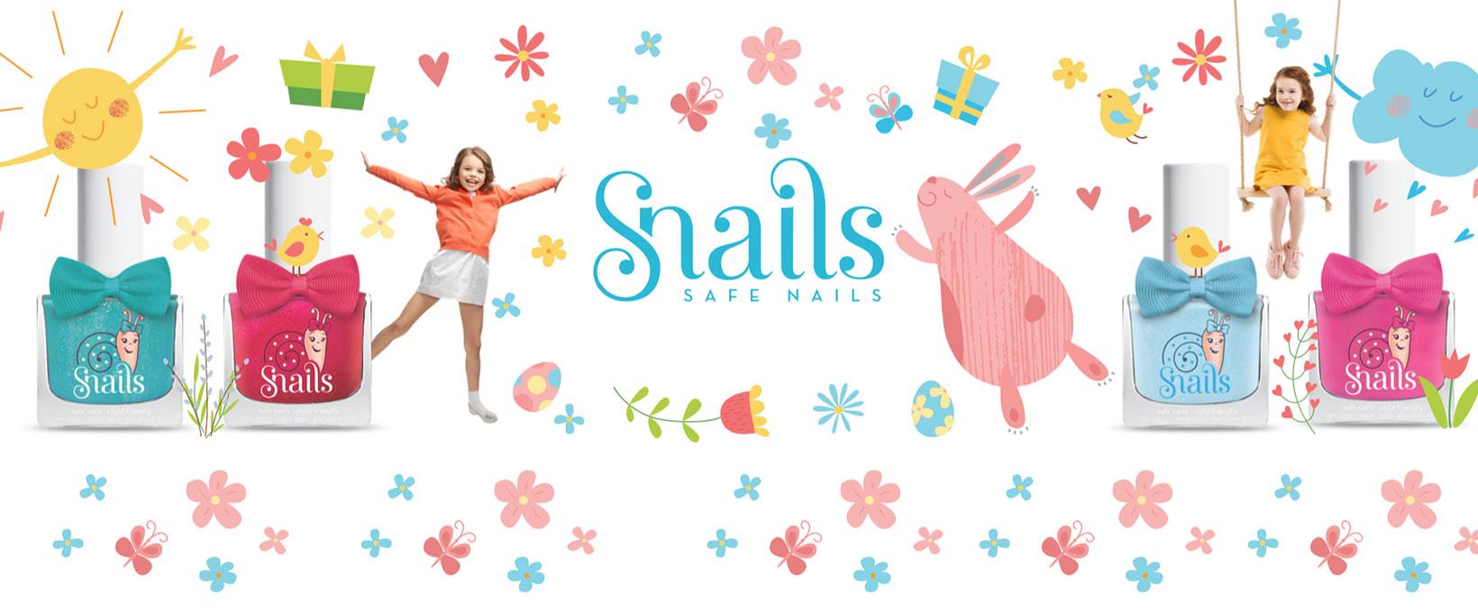Les vernis Safe nails à l'eau pour les petites coquettes !
