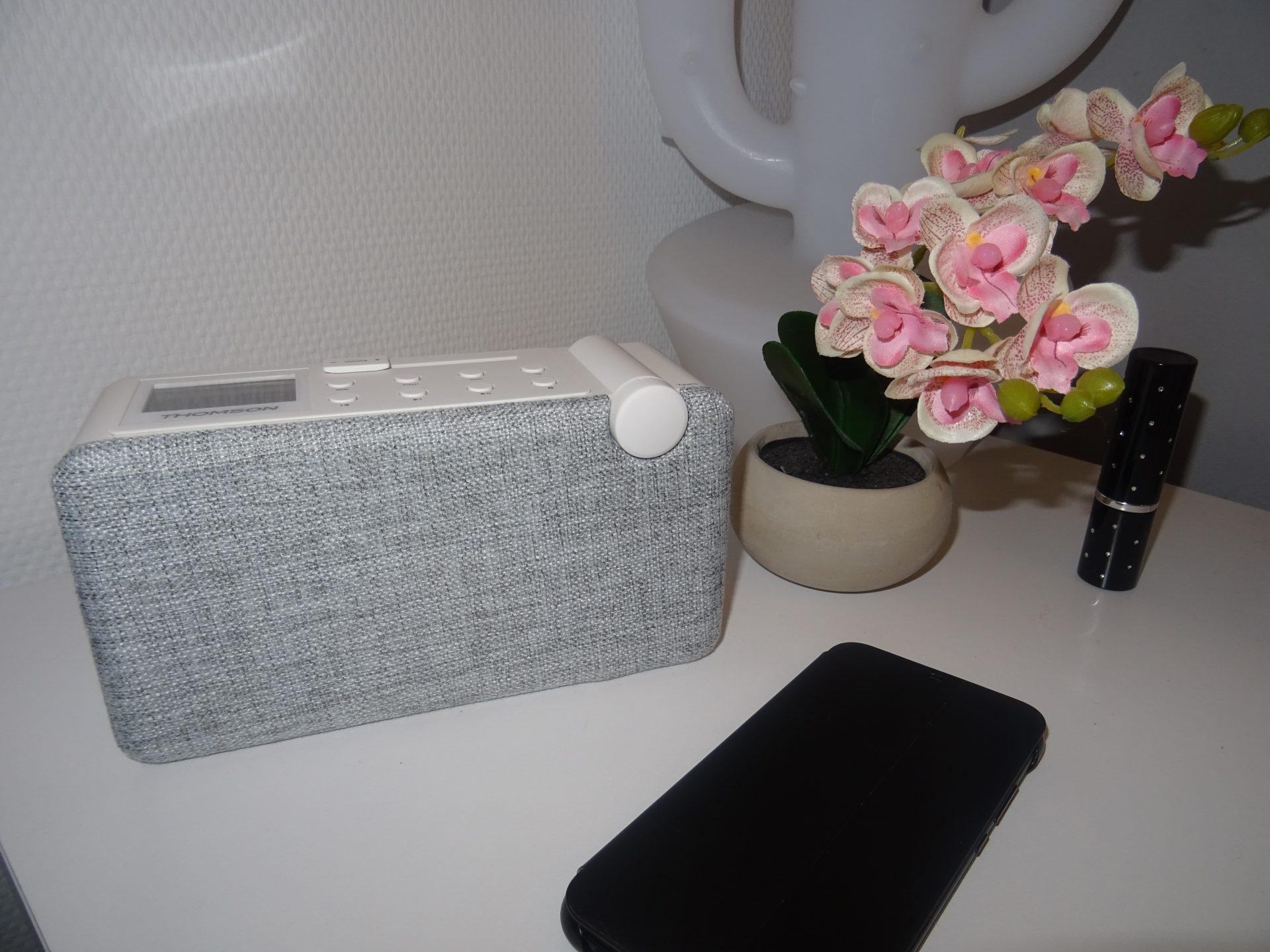 Notre enceinte sans fil et radio WS05 de chez Thomson