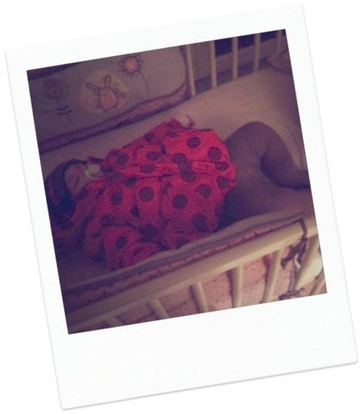 bébé dort catimini