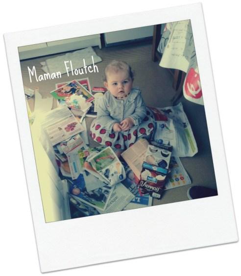 Maman Floutch bébé didou