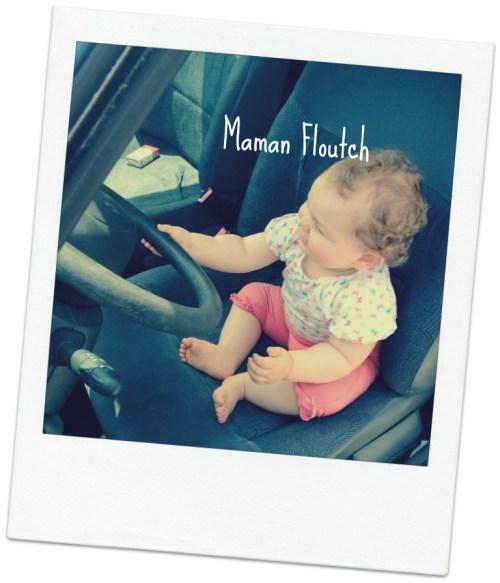 photo bébé voiture