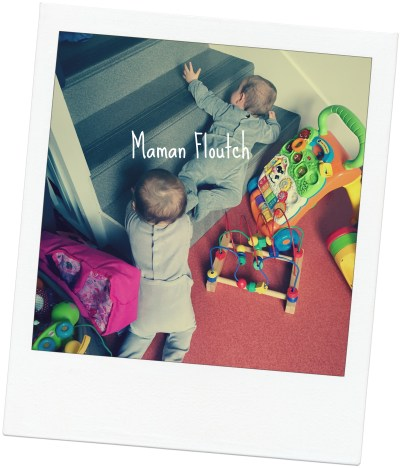 jumeaux 10 mois maman floutch