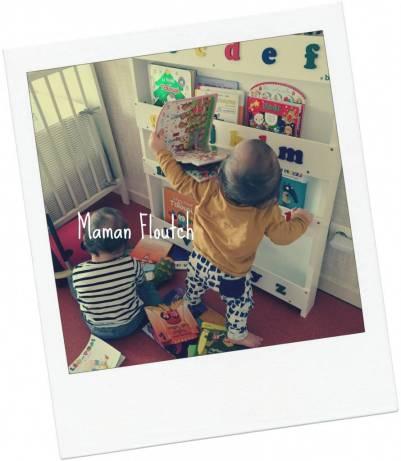 tidybooks étagère pour livres pour enfants