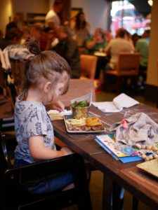 restaurant kids friendly londres