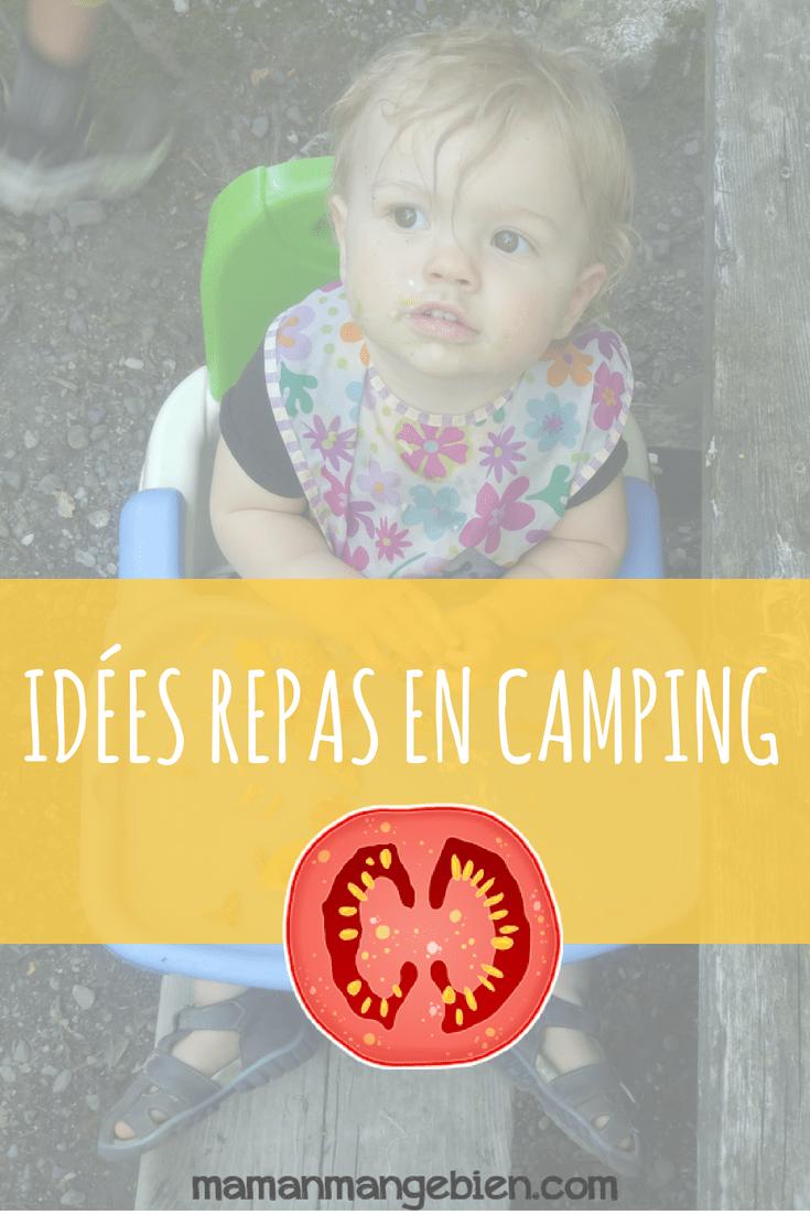 Idée Repas Pour Deux Amoureux idées de repas en camping avec les enfants - maman mange bien