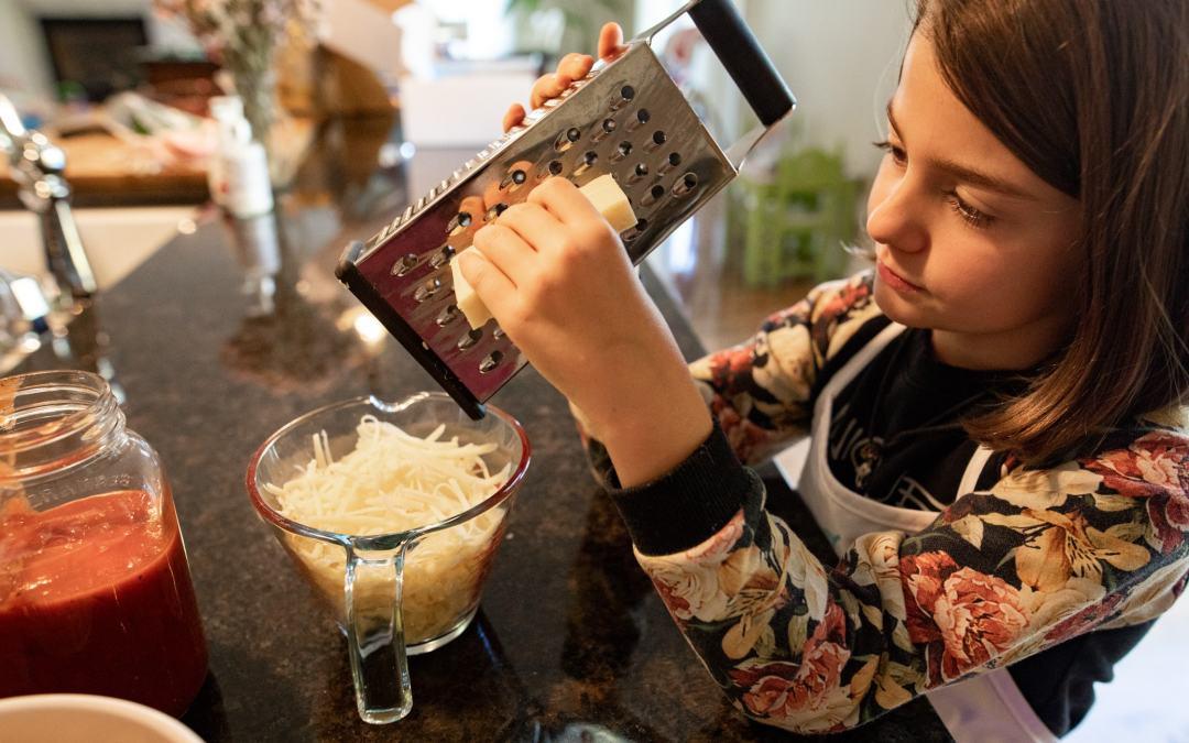 Cuisine en direct avec les enfants