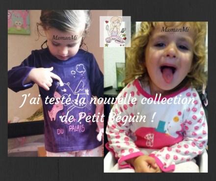 J'ai testé la nouvelle collectionde Petit Béguin !