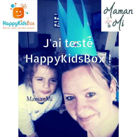 J'ai testé HappyKidsBox !