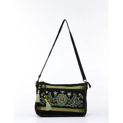 hongrie-produit-hongrois-ma-petite-maison-hongroise-sac-a-bandouliere-noir-motifs-verts-1500