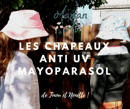 Les chapeaux anti Uv mayoparasol