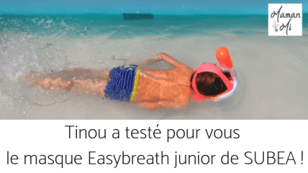 TEST masque Easybreath de Subea !