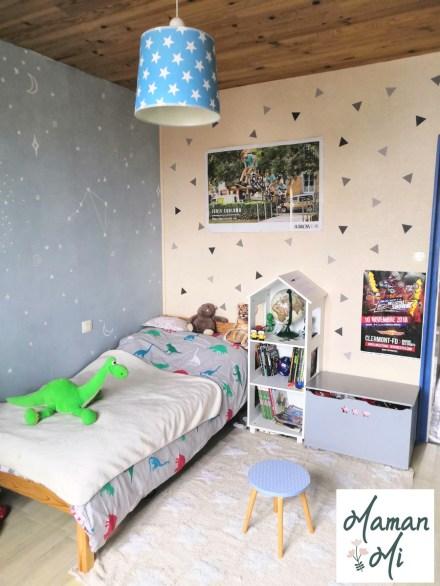 Chambre enfant décoration murale sticker papier peint