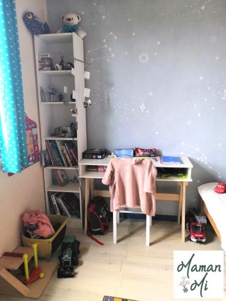 Bureau enfant vertbaudet papier peint muralswallpaper