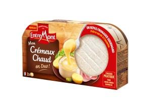 entremont-crémeux chaud-fromage