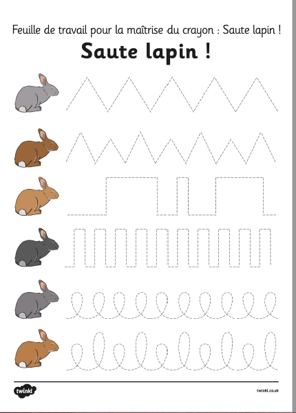 graphisme paques lapin