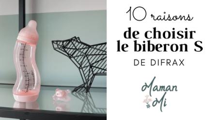 10 raisons biberons S difrax Maman Mi