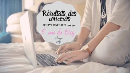 résultats concours septembre 2020 5 ans blog maman mi
