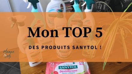 top 5 produits sanytol septembre2020 maman mi